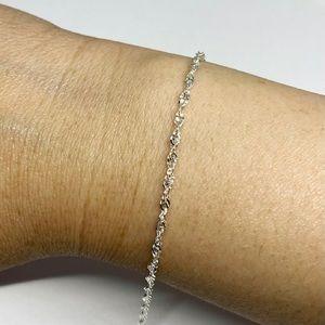 925 sterling silver Singapore bracelet